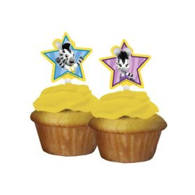 Zou Party Cupcake Toppers