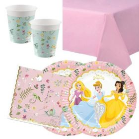 Disney Princess True Party Tableware Pack for 16