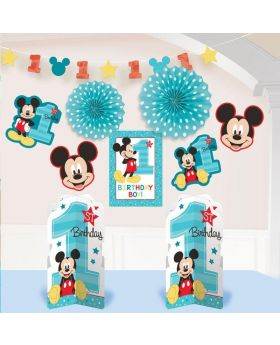 Mickey Mouse Fun To Be One Room Decoration Kit, pk10