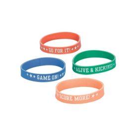 Champion Soccer Attitude Bracelets pk12