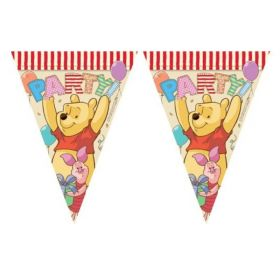 Winnie The Pooh Alphabet Flag Banner 3m