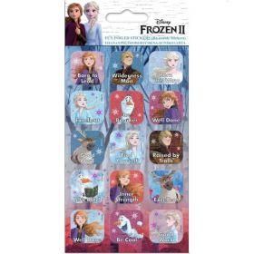 Frozen 2 Caption Foiled Stickers