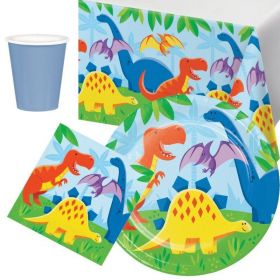 Dinosaur Tableware Party Pack for 8