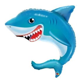Smiling Shark Supershape Balloon