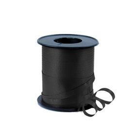 Black Balloon Ribbon 100yds