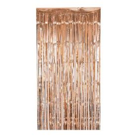 Rose Gold Foil Curtain