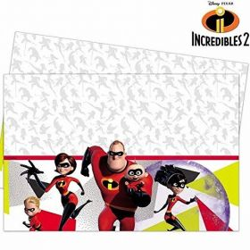 The Incredibles 2 Party Tablecover 1.2m x 1.8m