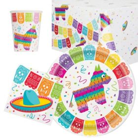 Mexican Fiesta Party Tableware Pack for 8
