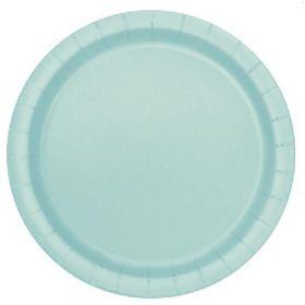 Mint Paper Plates 23cm, pl8