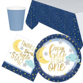 Twinkle Little Star Party Tableware Pack for 8
