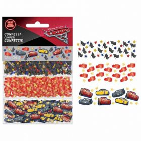 Cars 3 3-Pack Confetti 34g