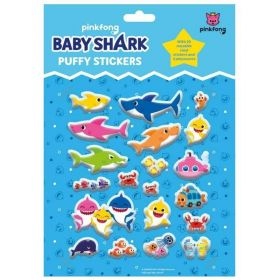 Baby Shark Puffy Stickers