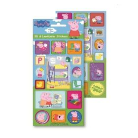 Peppa Pig 3D & Lenticular Stickers