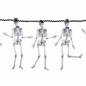 Skeleton Crew Hanging Garland 3m
