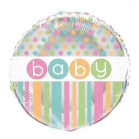 Pastel Baby Shower Foil Balloon
