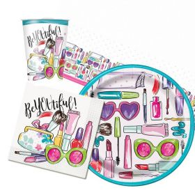 SPA Party Party Pack For 8 Including Tableware And 8 Filled Party Bags