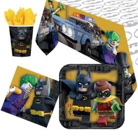 LEGO Batman Party Tableware Pack for 8