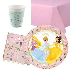Disney Princess True Party Tableware Pack for 8