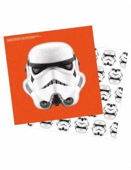 Stormtrooper Paper Party Napkins, pk16
