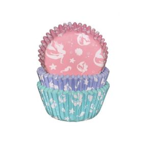 Mermaid Cupcake Cases, pk75