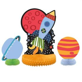 Outer Space Centrepiece Decorations, pk3