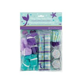 Mermaid Wishes Mega Party Pack Fillers, pk48