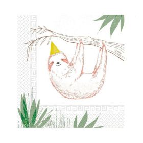 Safari Party Napkins 33cm x 33cm, pk20
