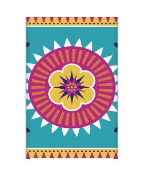 Boho Mexican Fiesta Tablecover 1.37m x 2.13m