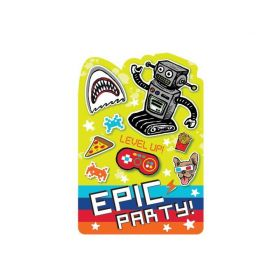 Epic Party Invitations, pk8