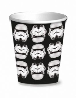 Stormtrooper Paper Party Cups, pk8