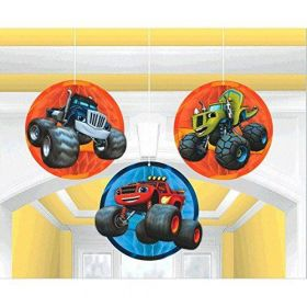 Blaze and the Monster Machines Honeycomb Hanging Party Decoration