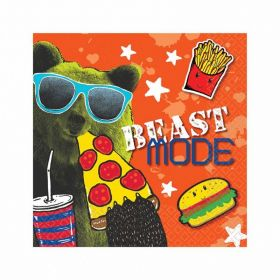 Epic Party Beverage Napkins 25cm x 25cm, pk16