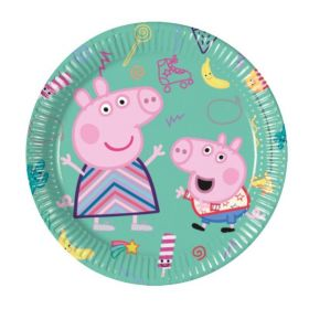 Peppa Pig Party Dessert Plates