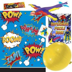Superhero Themed Pre Filled Party Bags