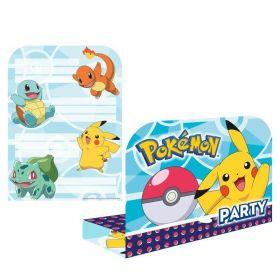 New Pokemon Invitations, pk8