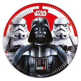 Star Wars Classic Paper Plates  23cm