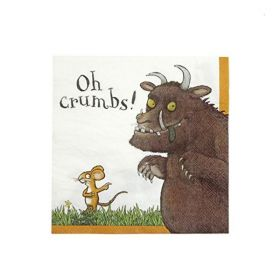 The Gruffalo Colourful Party Napkins pk20