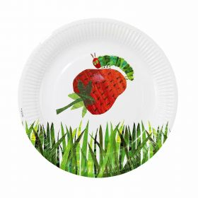 The Very Hungry Caterpillar Party Plates, colourful pk12
