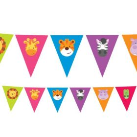 Jungle Friends Pennant Bunting 4m