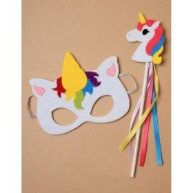 Unicorn Face Mask and Wand