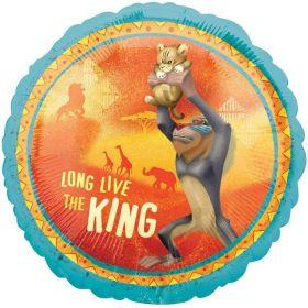 "Lion King Standard Foil Balloon 17"""