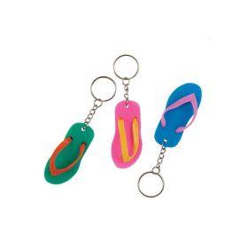 Flip Flop Keychains pk6
