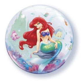little mermaid bubble