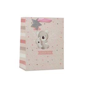 Pink Baby Koala Medium Gift Bag
