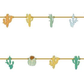Cacti Party Banner 2.3m