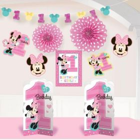 Minnie Mouse Fun To Be One Room Decoration Kit, pk10