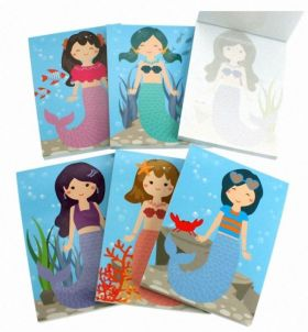 Mermaid Memo Pad