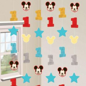 Mickey Mouse Fun to Be One String Decorations, pk6