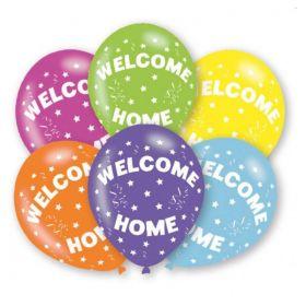 "Welcome Home Latex Balloons 11"", pk6"