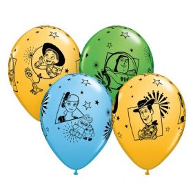 "Toy Story Latex Balloons 12"", pk6"
